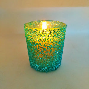 Aroma Candles: Votive blue chips