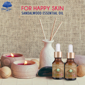 Sandalwood Essential Oil - Blue Tree Aroma