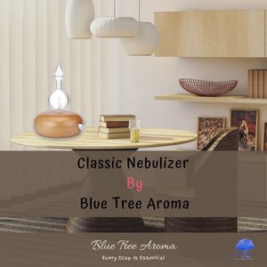 Wood Nebulizer Waterless Aromatherapy - Blue Tree Aroma