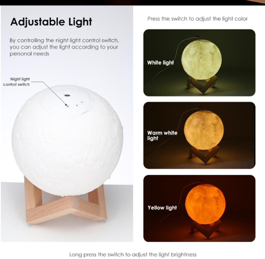 Moon Air Essential Oil Diffuser