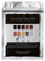 HÅRFIBER - JASON BY SWEDEN - REFILLPACK 30G - WHITE - VIT