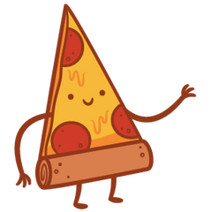 Taste Buds: Pizza Lapel Pin