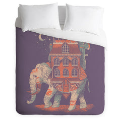 Trunk of Treasures Duvet Cover