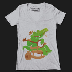 Sweet Home Alligator V-Neck
