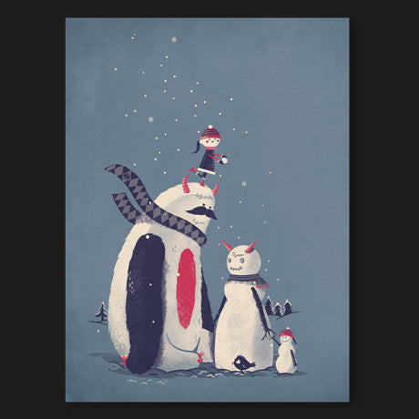 Frosty Friendship Print