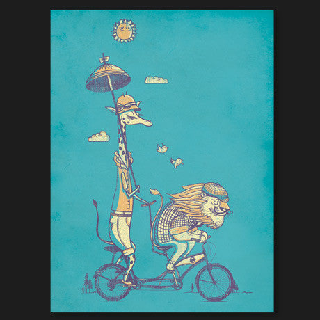 Bicycle Built For Love Print