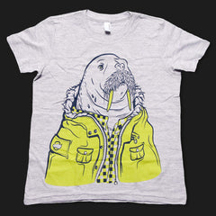 I Am The Walrus T-Shirt (Youth Size 8)