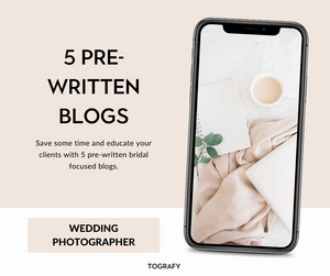 Wedding Blog Templates, Series One