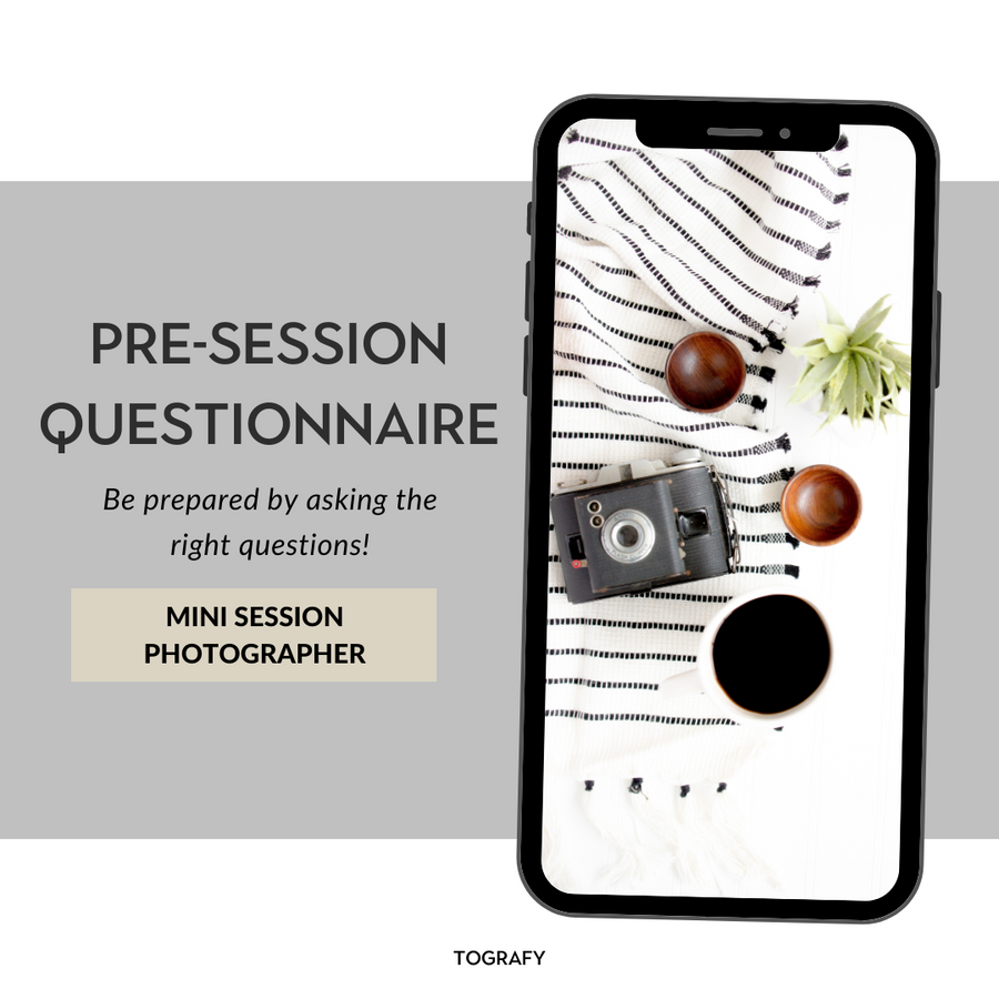 Mini Session Pre-Session Questionnaire