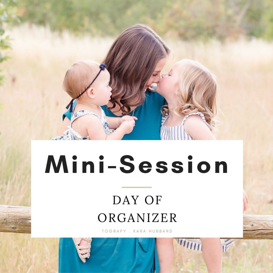Bundle - Mini-Session Scheduler and Day-Of Organizer