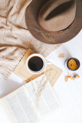 photographer, rest, coffee, brown hat, book, flat lay, business help, coaching, photography coach, tografy, kara hubbard