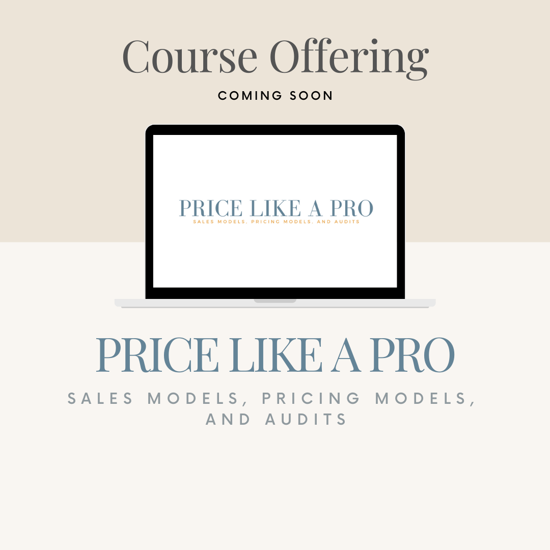 Tografy course for photographers on pricing, Pricing like a pro, sales models, pricing models, and audits, how to audit your pricing , photographer business coach, kara hubbard