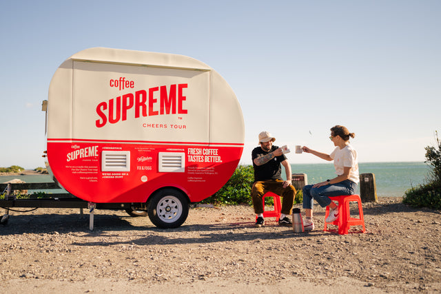 The Coffee Supreme Cheers Tour