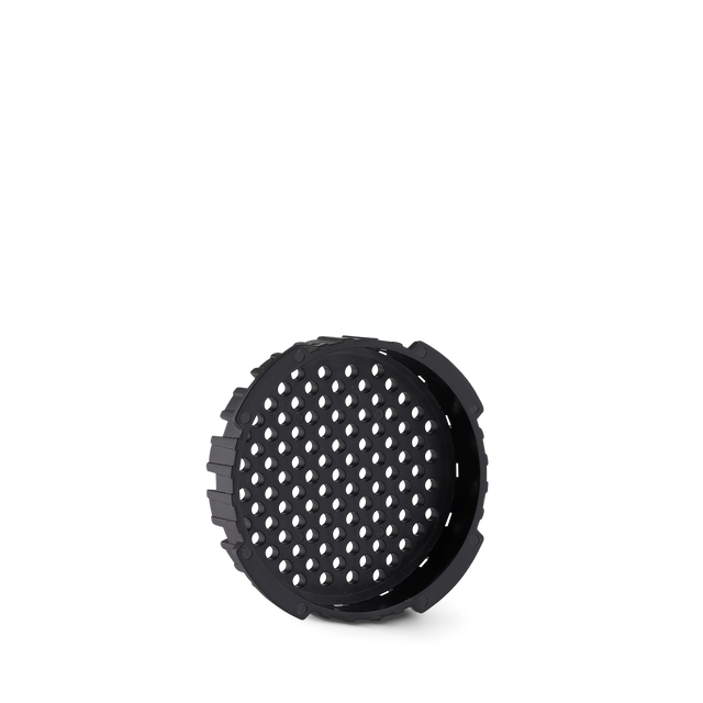 A replacement Aeropress filter cap