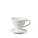 Hario V60 coffee dripper, white