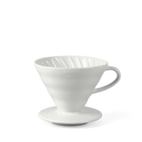 Hario V60 2 cup coffee dripper, white