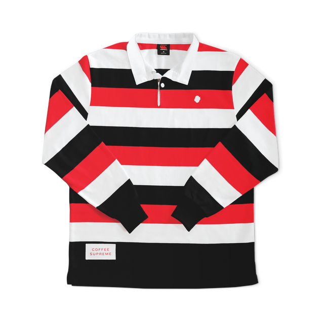 Coffee Supreme branded rugby jersey