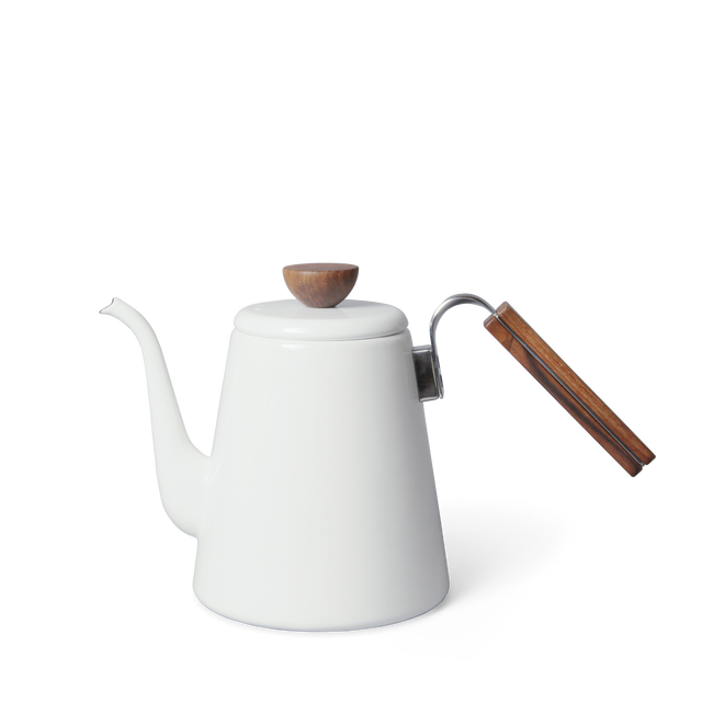 Hario enamel pour over kettle
