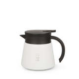 White, Hario thermal coffee server
