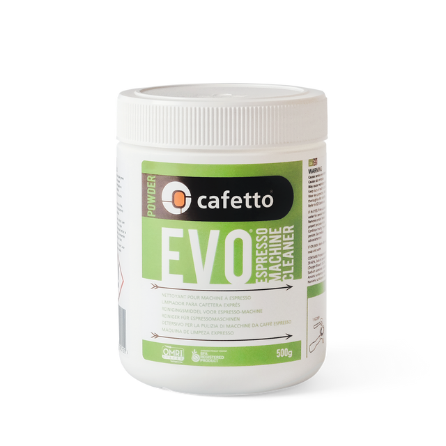 cafetto evo espresso machine cleaning powder