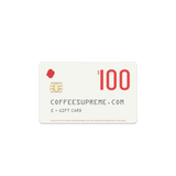 Coffee Supreme E-Gift Card