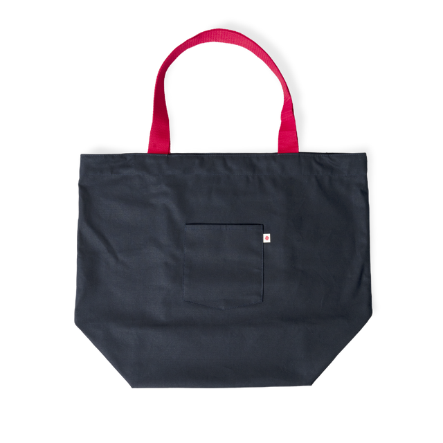 Coffee Supreme Navy Market Bag.
