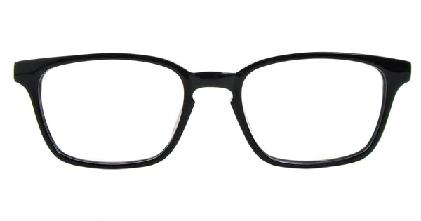 Beaver - Shiny Black and White - See.Saw.Seen Eyewear