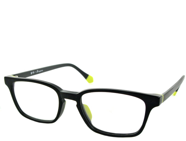Beaver - Matte Black and Neon - See.Saw.Seen Eyewear