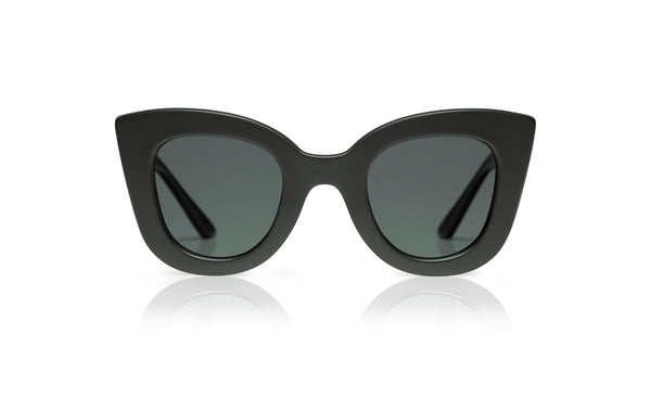 Cat-Cat - Matte Black - See.Saw.Seen Eyewear