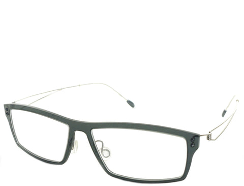 Central - Dark Gray Silver - See.Saw.Seen Eyewear