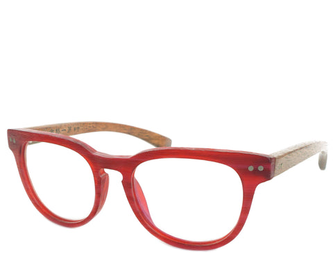 Cotter - Red - See.Saw.Seen Eyewear