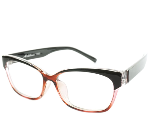 Eugenia - Red Black Crystal Demi - See.Saw.Seen Eyewear