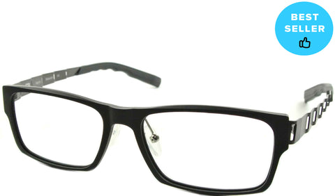 Faxon - Matte Black - See.Saw.Seen Eyewear