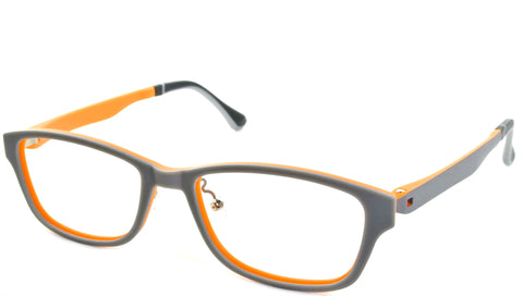 Foerster - Gray and Orange - See.Saw.Seen Eyewear
