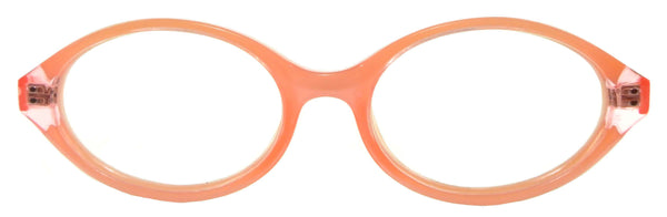 Geneva - Salmon Pink Crystal - See.Saw.Seen Eyewear