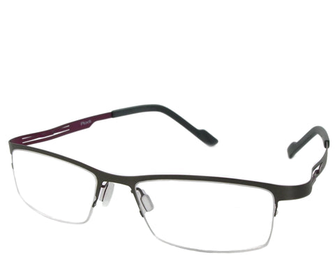 Greenwich - Gray and Magenta - See.Saw.Seen Eyewear