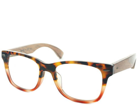 Hayes - Tortoise Red Demi - See.Saw.Seen Eyewear