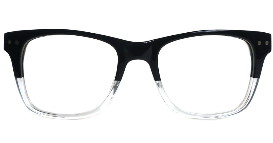 Hayes II - Black Demi - See.Saw.Seen Eyewear