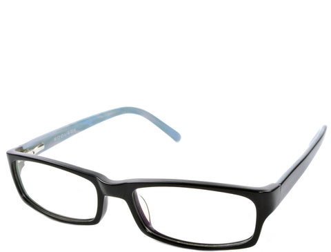 Heyman (petite) - Black and Blue - See.Saw.Seen Eyewear