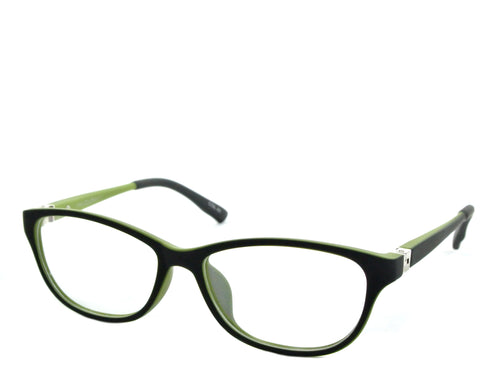Mirabel (petite) - Black and Lime - See.Saw.Seen Eyewear