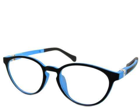 Rey (petite) - Black and Blue - See.Saw.Seen Eyewear