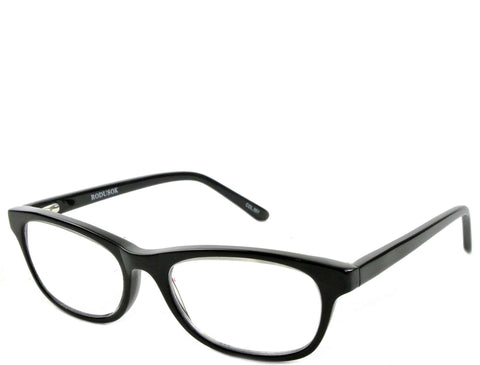 Rossi (petite) - Shiny Black - See.Saw.Seen Eyewear