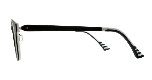 Sherman - Black and White - See.Saw.Seen Eyewear