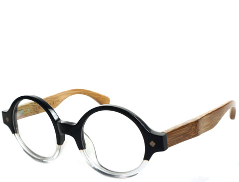Wildwood Bamboo - Black Demi - See.Saw.Seen Eyewear