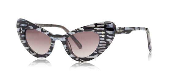 Josie - Liquid Metal - See.Saw.Seen Eyewear