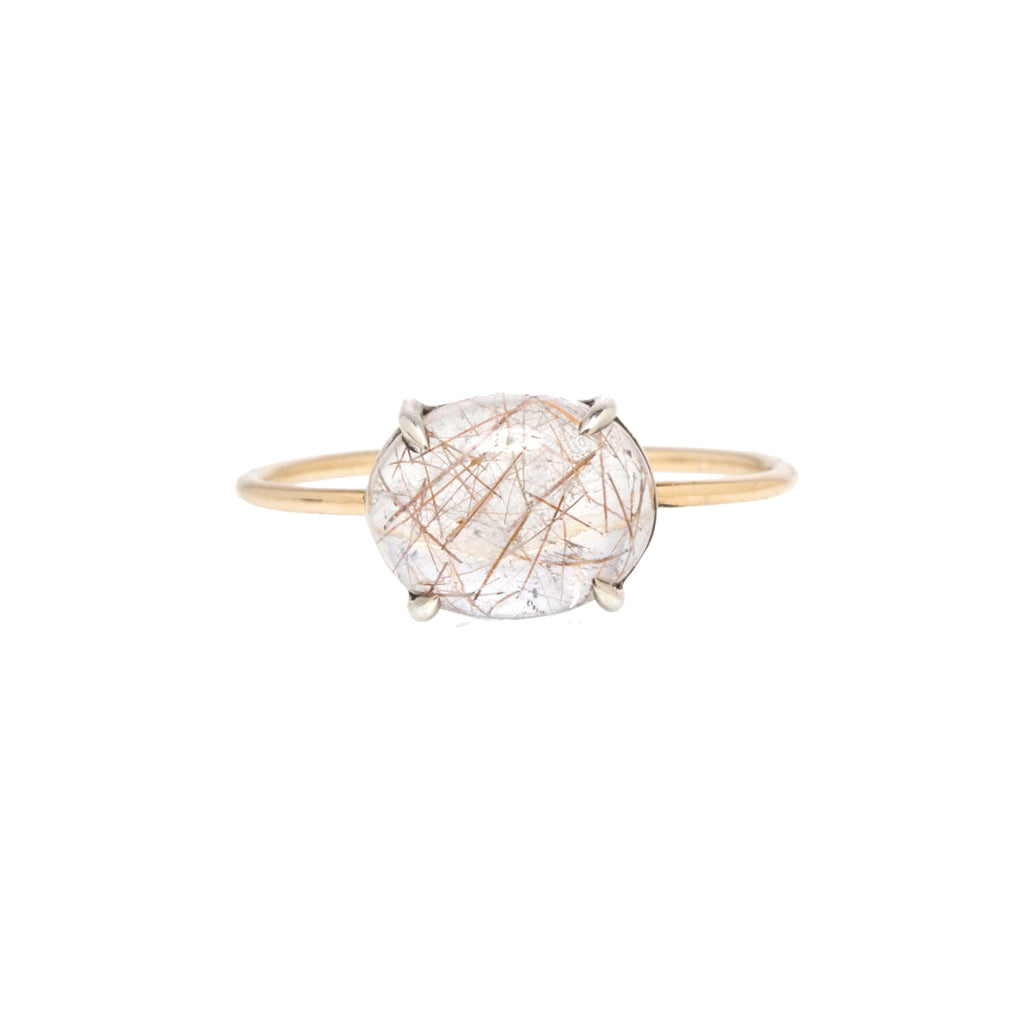 Isadora Cabochon Stone Ring - In Stock