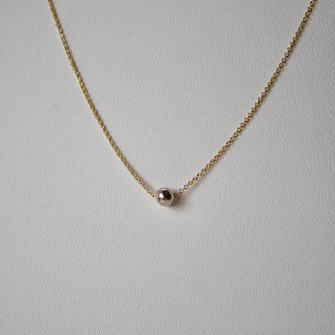 Ball Inset Necklace