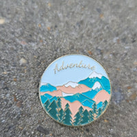 Mountains/ Outdoors Adventure Enamel Pin