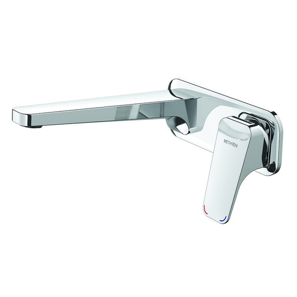 Methven Waipori Wall Mounted Bath Mixer with Plate