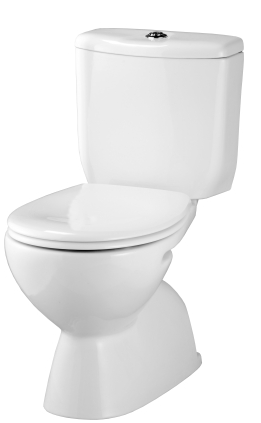 Civic Deluxe Close Coupled Toilet Suite